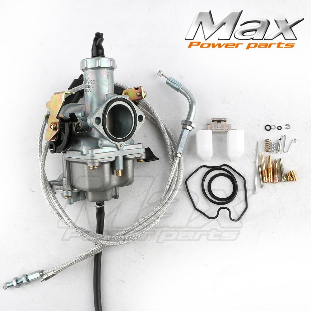 Beliebte Marke Pz30 30mm Vergaser Beschleunigung Pumpe Racing Powerjet Angeboten Für Irbis Ttr250 Barswith Dual Gaszug Cg200 Cg250 Reparatur Kit