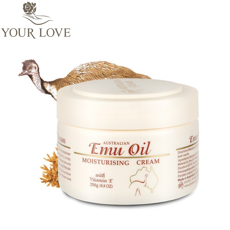 Australia GM Emu Oil highly moisturizing Face Cream, Body Cream, natural skin softener with Vitamin E for dry SENSITIVE SKIN edtid 220v 60w 500ml capacity automatic ice cream machine diy fruit ice cream machine self cooling children frozen dessert