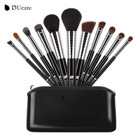 DUcare 11 Pcs Premiuim Makeup Brush Set High Quality Soft Synthetic And Pony Hair Professional Makeup