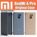 "100% original xiaomi redmi 4 pro case flip tampa funda snapdragon 625/430 5 ""para xiaomi red mi 4 case redmi 4"