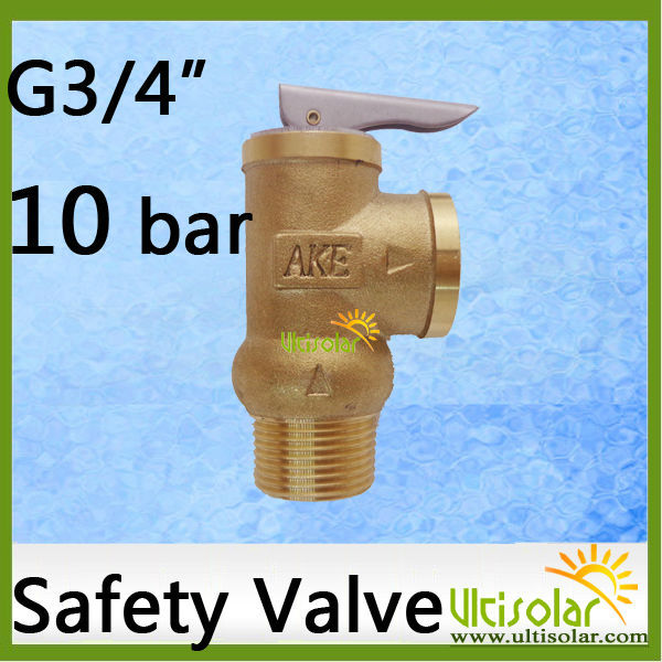 10Bar Opening Pressure Safety Valve YA-20 3/4 AKE 1Mpa AKE Pressure Relief Valve 10bar opening pressure safety valve ya 20 3 4 ake 1mpa ultifittings com