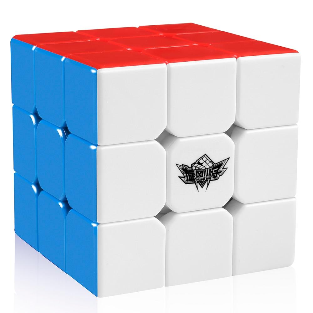 D-FantiX Cyclone Boys 3x3x3 Magic Cube Professional Speed Cubes 3x3 Puzzles 3 By 3 Speedcube (56mm)