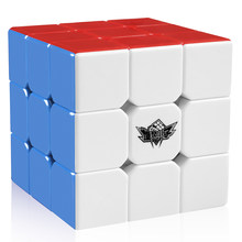 D-FantiX Cyclone Boys 3x3x3 Magic Cube Professional Speed Cubes 3x3 Puzzles 3 by 3 Speedcube (56mm)(China)