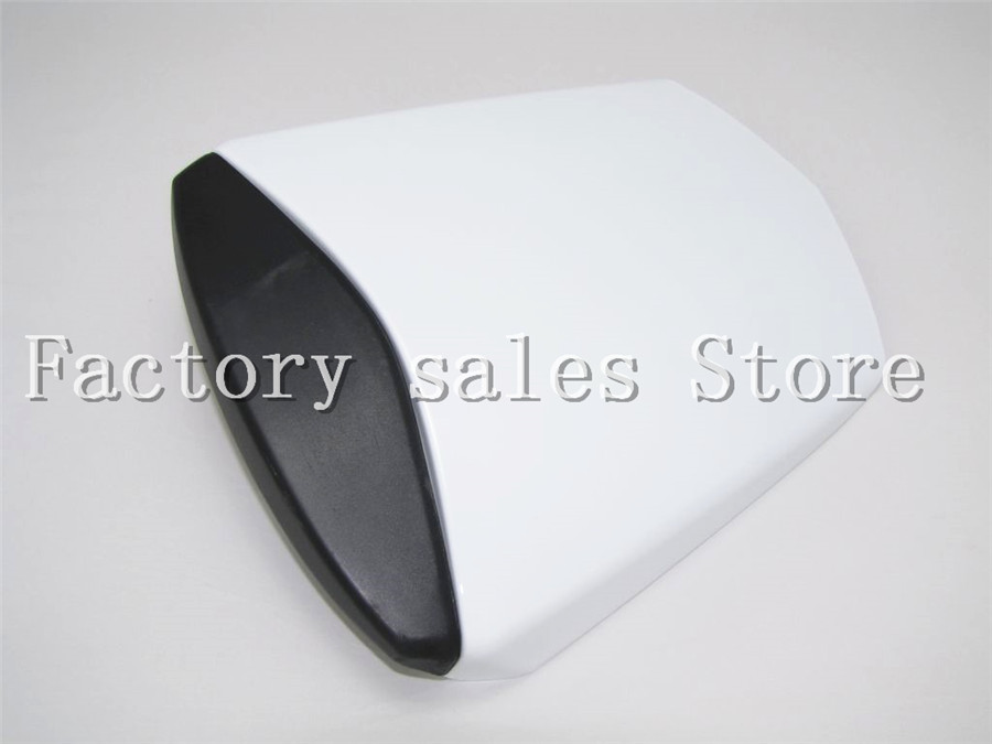 For Yamaha YZF600 YZF 600 R6 2003 2004 2005 03 04 05 White Rear Seat Cover Cowl Solo Racer Scooter Seat Motorcycle YZFR6