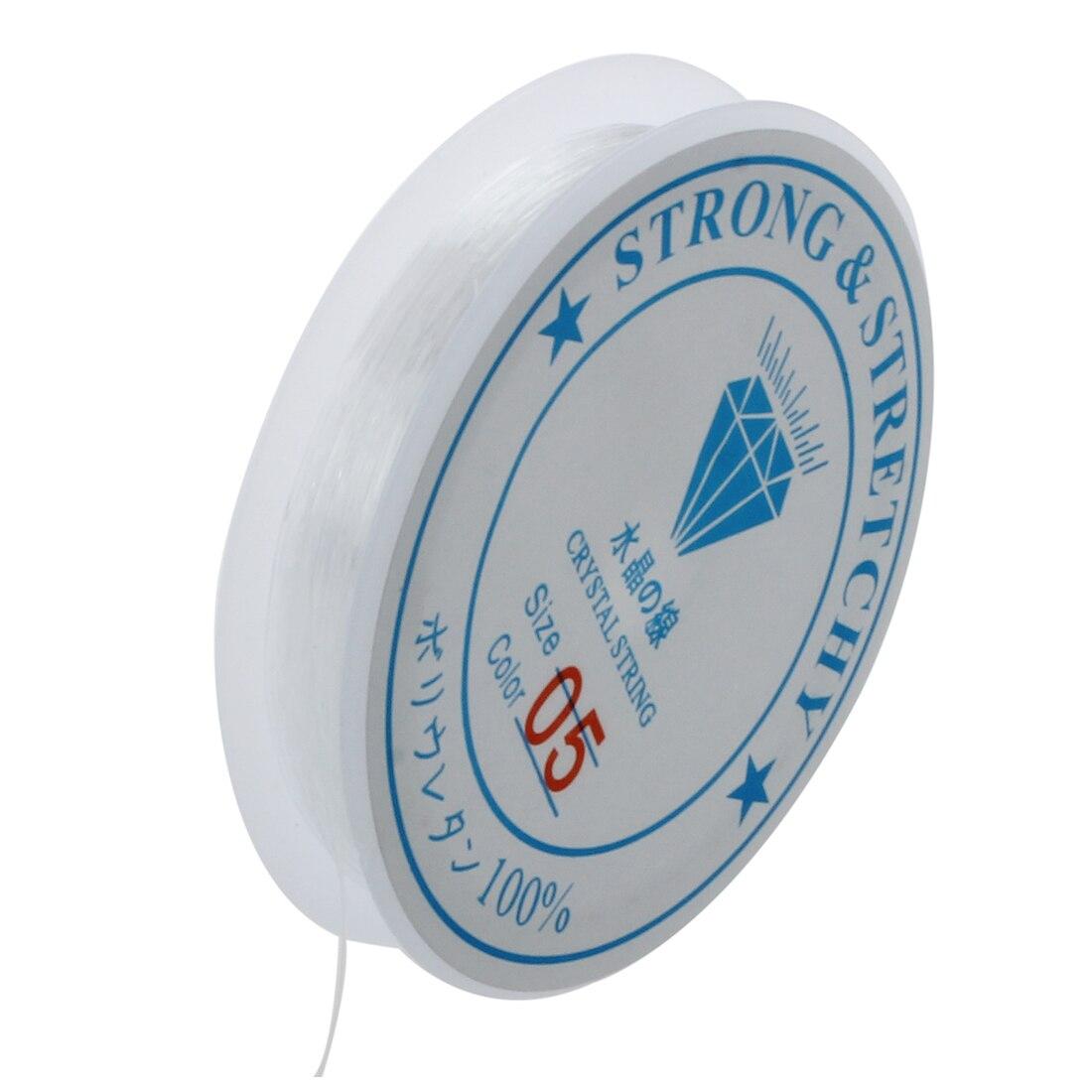 Ролл провод катушки прозрачный эластичный шнур 0.5 мм