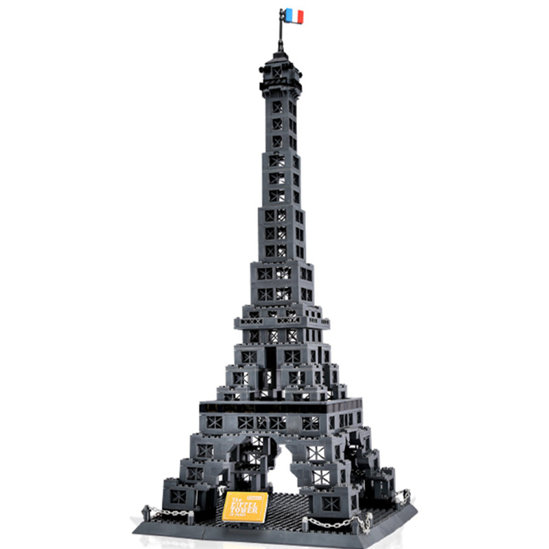 978pcs Famous Architecture Eiffel Tower Of Paris Building Block Brick Toy 8015-in Blocks from Toys & Hobbies    3