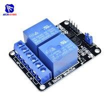 2 CH c. C 5V relais Module avec optocoupleur bas niveau déclencheur pour Arduino UNO R3 MEGA 2560 1280 DSP bras PIC AVR STM32 framboise Pi