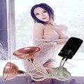 Luoge Female Masturbation Sucking Vibrating Breast Enhancer Enlargement Pump Suction Cups Sex Toys for Women Sex Machine Product