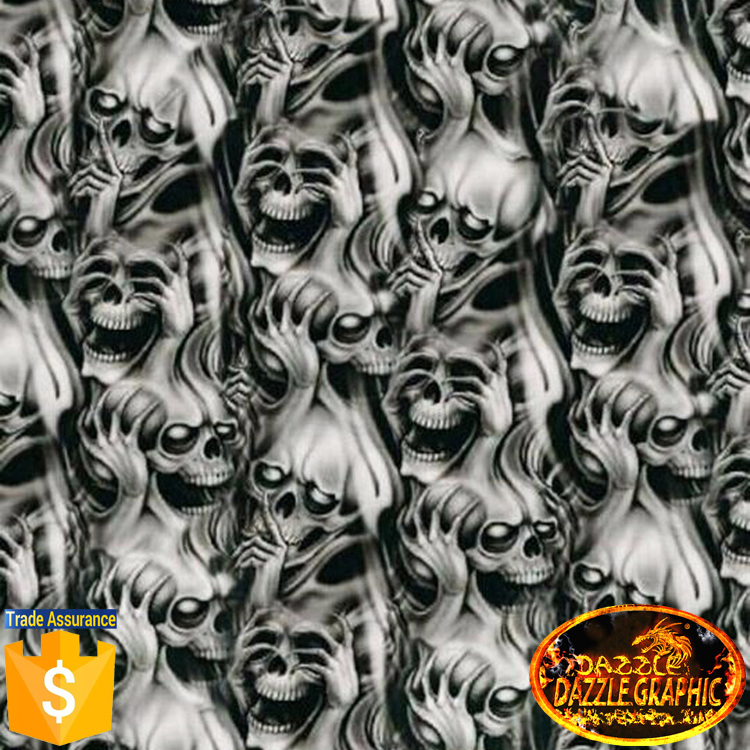 Dazzle Graphic NoDGDB New Design Laughing Skulls Pattern - Best automobile graphics and patternscompare prices on car graphics flames online shoppingbuy low