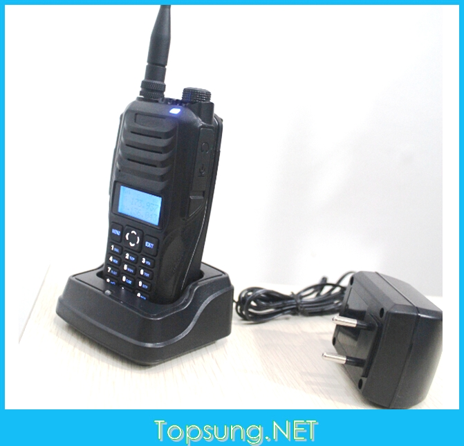 US $87 2  Powerful 10w dual band uhf vhf mobile radio mobile radio handy  talky walky RS589 radios portatiles HT transceiver FM radio-in Walkie  Talkie
