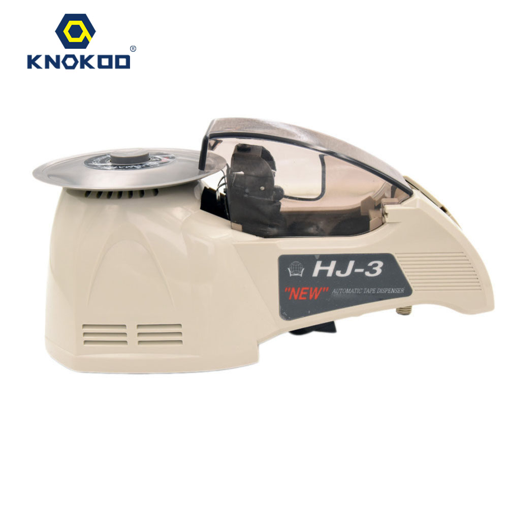 KNOKOO ELectronic Automatic Packing Tape Dispenser HJ-3 Tape Cutter Machine automatic tape dispensers electric tape dispensers automatic tape cutter machines automatic tape dispensing machines