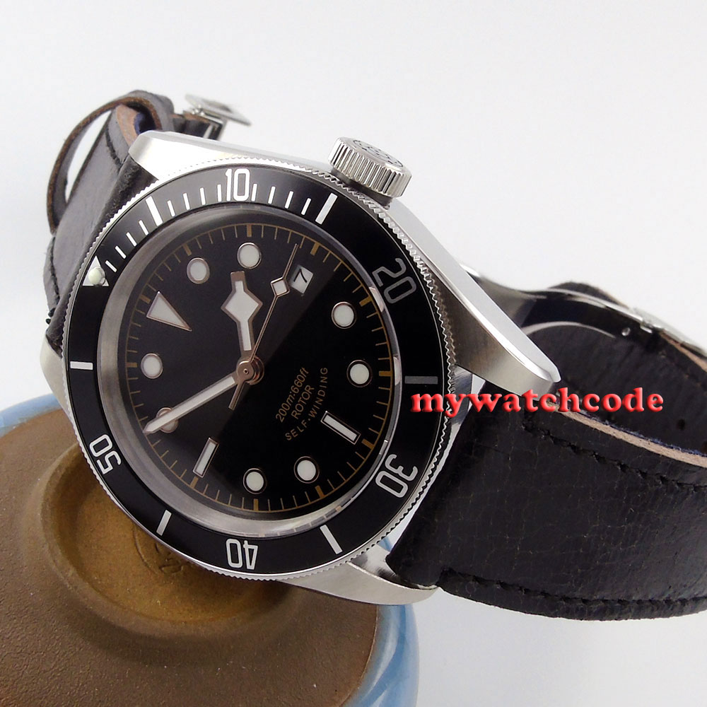 41mm corgeut black sterile dial Sapphire Glass deployment clasp Automatic 20ATM mens diving Watch Cor15 41mm corgeut black dial sapphire glass miyota automatic movement mens watch c03