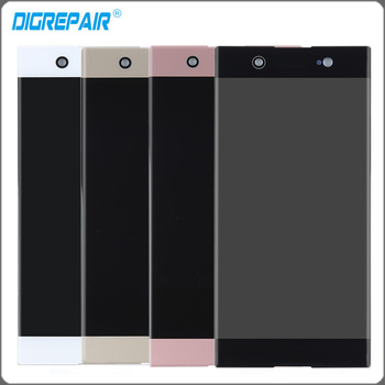 For Sony Xperia XA1 Ultra G3221 G3212 G3223 G3226 C7 LCD Display Touch Screen Panel with Digitizer Assembly Replacement Parts Сварка