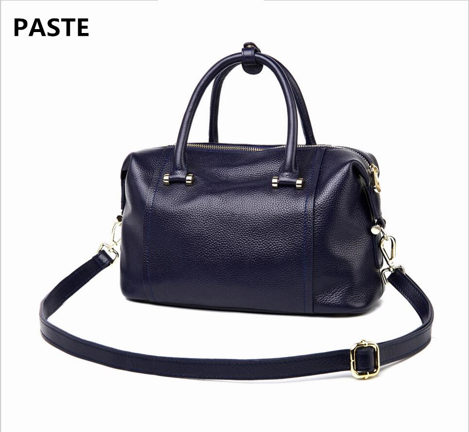 PASTE High-end Luxury Brand Handbags Winter New British Style Leather Handbags First Layer Leather Handbag Diagonal Package foxer 2016 new high end luxury fashion leather handbag shoulder diagonal package of 100