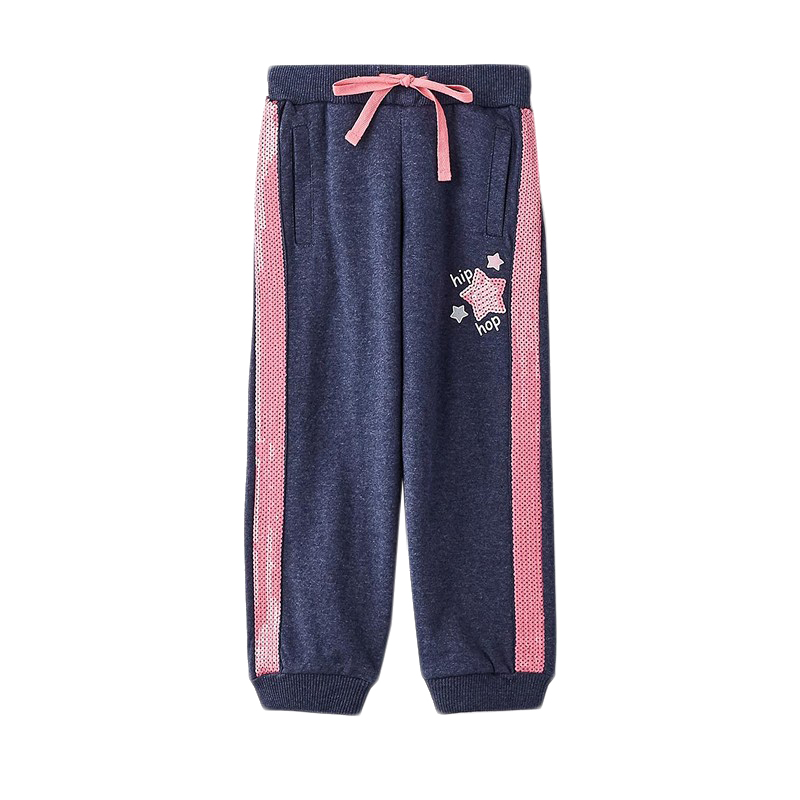 Pants & Capris MODIS M182K00238 for girls kids clothes children clothes TmallFS 2017 winter girls clothes set cartoon mouse flower girls dress winter jacket hooded velvet girls pants toddler girls clothes