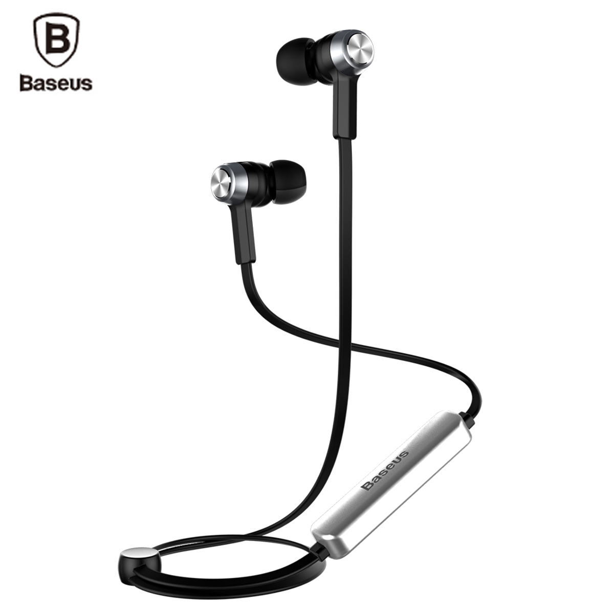 Baseus Magnet Wireless Bluetooth Earphone Headphone For iPhone X 8 7 Samsung Sport Wireless Headset With Mic Stereo Earpieces 1