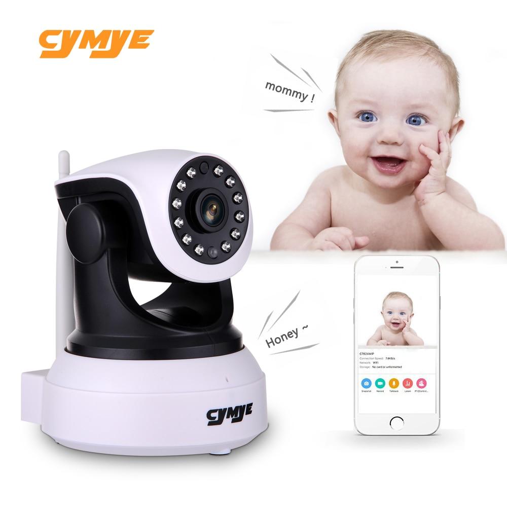 Cymye HD Ip Camera Wireless Wifi Security Camera Video Sorveglianza Night Network Baby Monitor Dell'interno C7824WIP