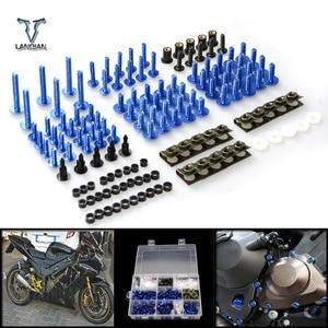 Image 1 - CNC Universal Motorcycle Fairing/windshield Bolts Screws set For Triumph TIGER 1050 TIGER 800 tiger 1200 explorer Trophy /se