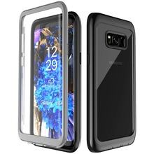 For Samsung Galaxy S8 Plus case life water Shock Dirt Snow Proof Protection With Touch ID for S8 plus Case Cover