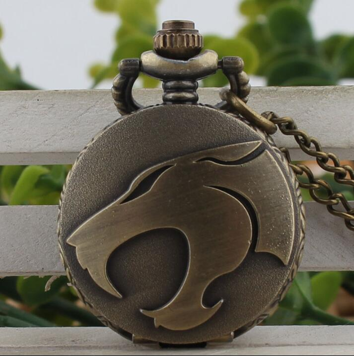 Bronze Antiques Game Of Thrones Cartoon Face Necklace Pocket Watches Gift
