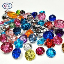 HL 20pcs/package Lots Shape Mixed Color Acrylic Buttons Apparel Sewing Accessories DIY Crafts 11mm-18mm