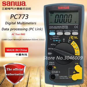 Sanwa Pc-Link True Rms Multimeter/data-Processing Frequency/on-Off-Test with PC773