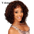 Short Curly Haircuts Pelucas Baratas Cheap wigs for black women peruvian kinky curly synthetic wig afro celebrity hair cuts