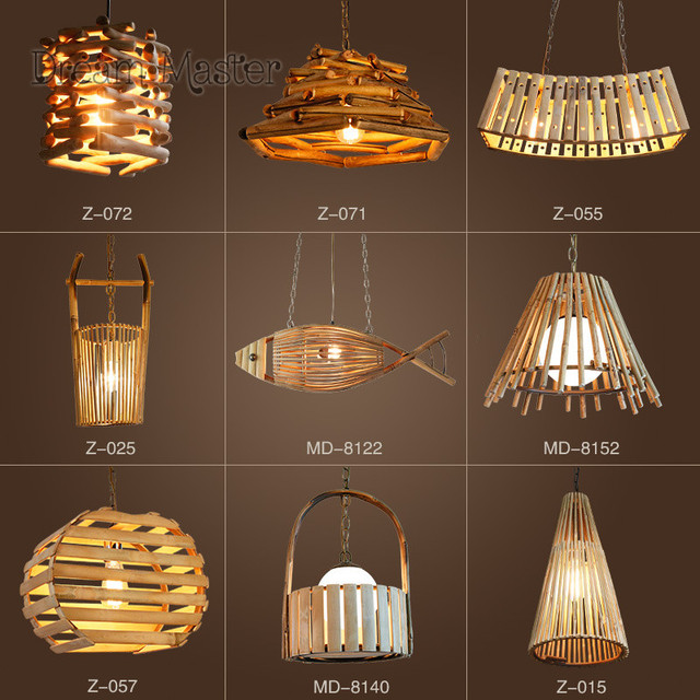 Chinese style creative personality bamboo and rattan chandeliers chinese style creative personality bamboo and rattan chandeliers restaurants coffee shops retro bars bedroom japanese chandelier aloadofball Image collections
