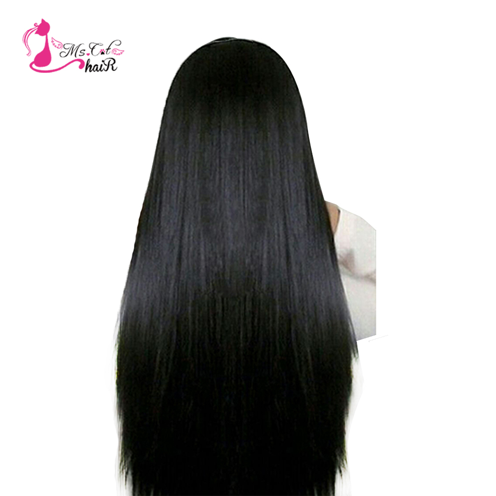 "Ms Cat Hair Malaysian Straight Hair Bundles Human Hair Extensions No Shedding Non Remy 8""-26"" Hair Weave Bundles Can Buy 3 PCS"
