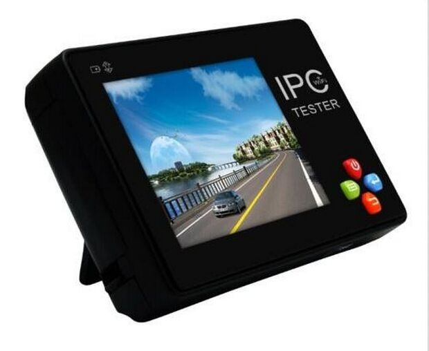 IPC-1600 3.5 inch CCTV Onvif IP Camera Tester Touch Screen Video Monitor PTZ/WIFI/FTP Server/IP Scan/Port Flashing/DHCP asmile free shipping 3 5 inch touch screen multifunction ip camera cctv tester support onvif with video record wifi ipc 3500