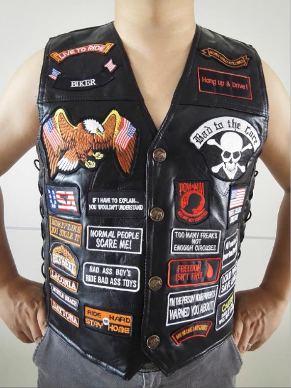IF YOU ARE FREE Small for Biker Vest jacket Motorcycle Patch