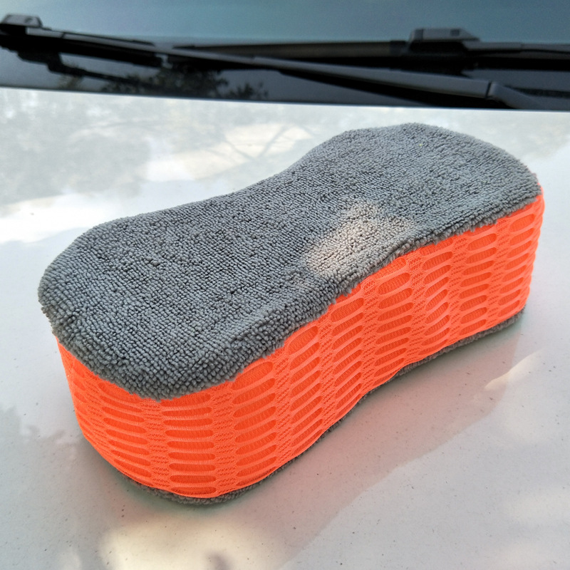 1PCS car wash sponge super large size thick absorbent car sponge bicycle motorcycle household cleaning products