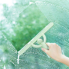 Plastic Human-shaped Glass Scraper Wiper Multifunctional Car Home Window Cleaning Brush Cleaner Helper Washing Household Tool t shaped plastic rubber car glass cleaning scraper white blue