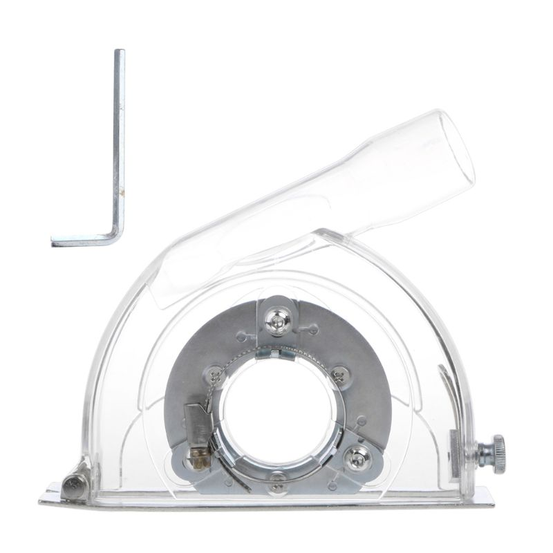 Clear Cutting Dust Shroud Grinding Cover For Angle Grinder & 3/4/5 Saw Blades #Aug.26