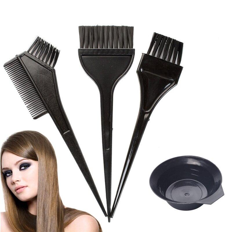 Hairdressing Brushes Bowl Comb Salon Hair Color Dye Hair Tint Tool
