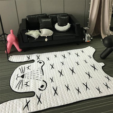 130*185cm Soft Kids Carpet Floor Cotton Mat Living Room Baby Rugs and Carpets Bedroom Home Supplies Tapete Decoration Alfombra
