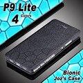 Para huawei p9 lite caso de telefone de couro de água cubo pu caso da aleta para huawei p9 lite tampa do caso novo 4 estilo para huawei caso p9lite