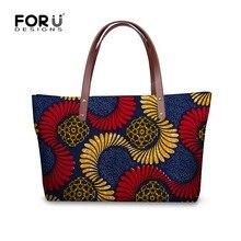 Forudesigns-Bags African Traditional Female Bolsa-Feminina Women Ladies Handbags High-Quality