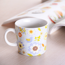 250ml Japanese-style Cherry Blossoms Zephyr Ceramic Mug Coffee Tea Milk Hot Water Cup Drinkware Farmhouse Rural Style Love Gift