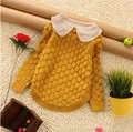 1 x Little girl's sweater for 1-12 years old baby Girls sweater for girls winter dress children's coat hedging knit jacket