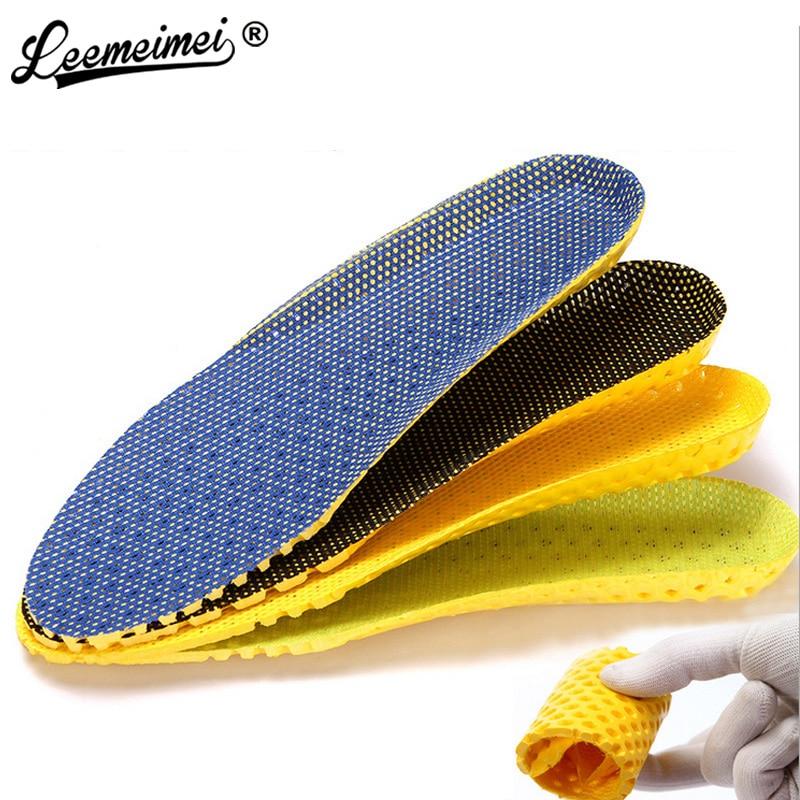 1 Pair Soft Washable Cotton Unisex Insoles Shoe-pads Size 37 ~ 44 NEW