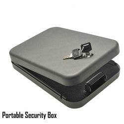 Security key safes portable car safe box handgun valuables money jewelry storage box strongbox 1 2mm.jpg 250x250