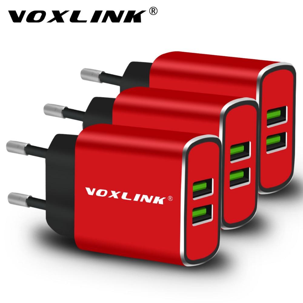 VOXLINK 2 Ports USB Schnelle Ladegerät 5V3. 1A USB Reise Ladegerät Universal für iPhone 6 6 s 7 7 plus Samsung Xiaomi Huawei LG SONY