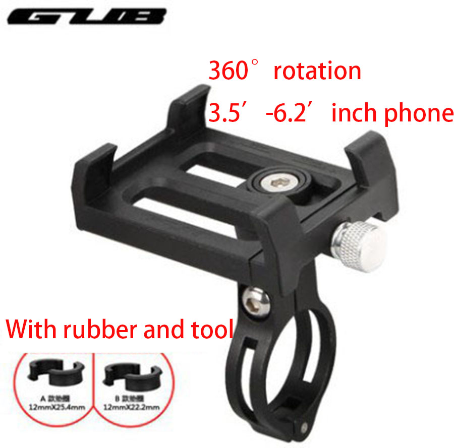 GUB bike moiblephone holder mount bracket smartphone aluminum tight metal MTB bicycle for <font><b>samsung</b></font> huawei xiaomi iphone image