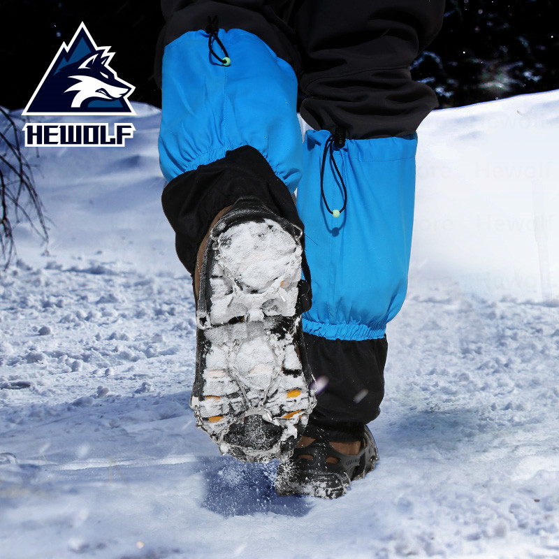 Quality Outdoor Climbing Antiskid Crampons Winter Walk 12 Teeth Ice Fishing Snowshoes Manganese Steel Slip Shoe Covers