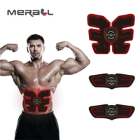 Ems Man Abdominal Muscle Stimulator Massager Charge Intelligence Motion Trainer Butterfly Shape Physical Therapy Care Equipment