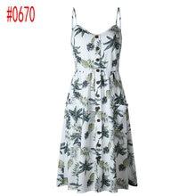 Vintage Sexy Bohemian Floral Tunic Beach Dress