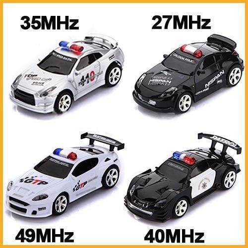 Мини RC Дистанционным Управлением Micro Гоночный Автомобиль Полиции Сирена Свет Автомобилей Контроллер Подарков