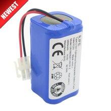 高品質充電式ilife ecovacsバッテリー 14.8v 2800mahロボットクリーナーアクセサリー部品chuwi ilife V7s A6 V7sプロ