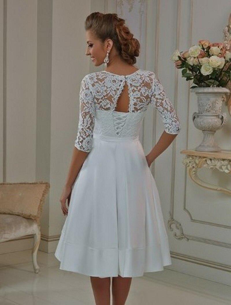 Fantastic Vestido Novia Corto Vintage Pictures Inspiration - Wedding ...